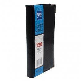 Tarjetero Plus Office tapa rígida 120 tarjetas