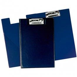 Carpeta miniclip PVC Folio azul marino