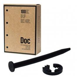 Encuadernadores Caja 100 unidades negro