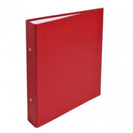 Archivador Exacompta A5 2 anillas 25mm rojo