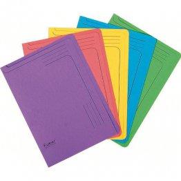 Subcarpeta Exacompta 290gr Pack 5 colores