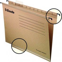 Carpeta colgante Esselte Classic 230gr Folio Prolongado