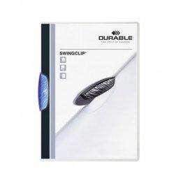 Dossier Durable Swinclip 30 hojas azul