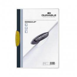 Dossier Durable Swinclip 30 hojas amarillo