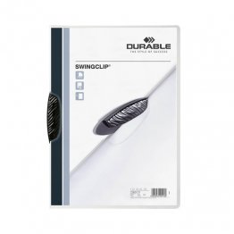 Dossier Durable Swinclip 30 hojas negro