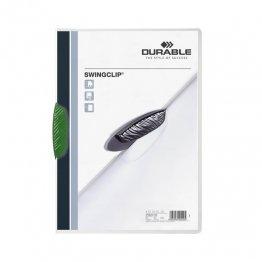 Dossier Durable Swinclip 30 hojas verde