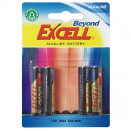 Pila Excell alcalinas LR03 AAA 1,5V