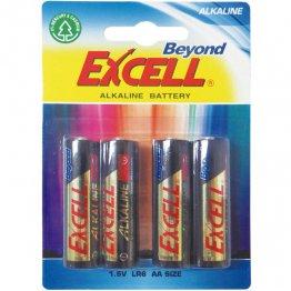Pila Excell alcalinas LR6 AA 1,5V