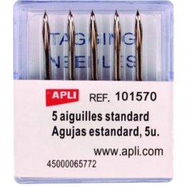 Agujas para pistola etiquetadora textil