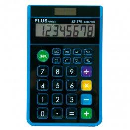 Calculadora Plus Office SS-275 azul/negro