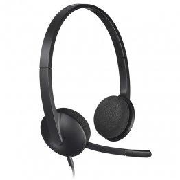 Auriculares Logitech Headset USB