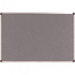 Tablero de fieltro Nobo marco aluminio 900x1200 mm