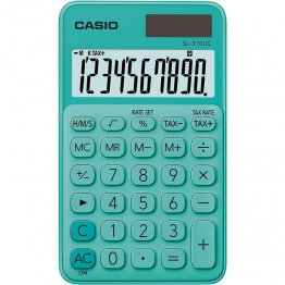 Calculadora Casio SL310UC verde