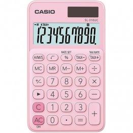 Calculadora Casio SL310UC rosa