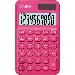 Calculadora Casio SL310UC rojo
