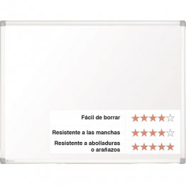 Pizarra Nobo Prestige magnética acero vitrificado 1800x1200