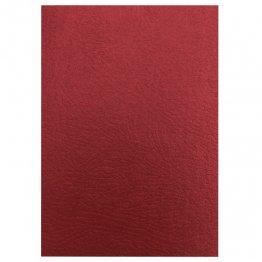 Cubiertas de encuadernación Ibiscolex A4. Color: Rojo. 50 ud./Caja