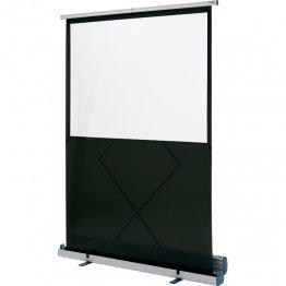 Pantalla de proyección Nobo portátil de suelo 160x120cm