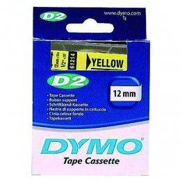 Cintas Dymo electrónica D2 12mmx10m. Amarillo