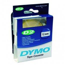 Cintas Dymo electrónica D2 6mmx10m. Blanco