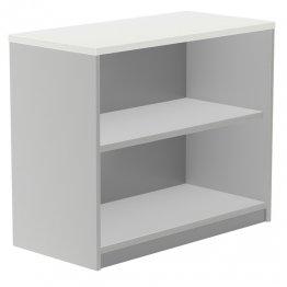 Armario Rocada bajo sin puertas 2 estantes 90x45x78 gris/blanco