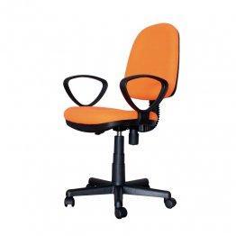 Silla oficina Makro Paper Giro Plus naranja