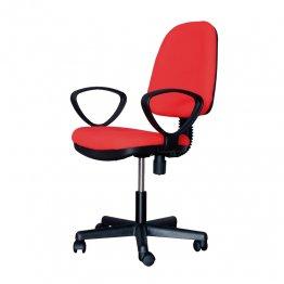 Silla oficina Makro Paper Giro Plus roja