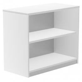 Armario Rocada bajo sin puertas 2 estantes 90x45x78 blanco/blanco