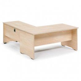 Ala de mesa de trabajo 100x60x72 Haya