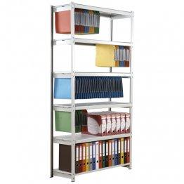 Estanteria PaperFlow 5 niveles para carpetas colgantes sin opcion.Elemento BASE An 1000 mm