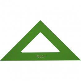 Escuadra Faber Castell Gama verde 28cm.