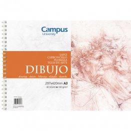 Bloc dibujo Campus University A3 160gr 30h