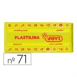 Plastilina Jovi 150gr. Amarillo claro