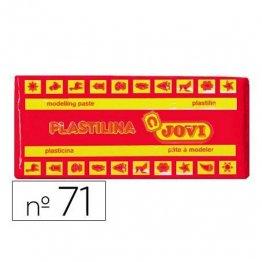 Plastilina Jovi 150gr. Rojo