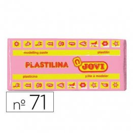 Plastilina Jovi 150gr. Rosa