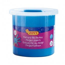Pintura de dedos Jovi 125ml. Azul Caja 5 unid