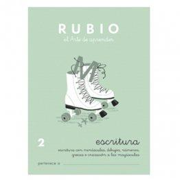 Cuadernos Rubio Caligrafía 2 Primaria
