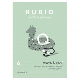 Cuadernos Rubio Caligrafía 6 Primaria