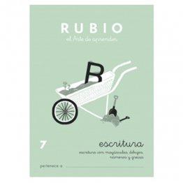 Cuadernos Rubio Caligrafía 7 Primaria