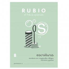 Cuadernos Rubio Caligrafía 8 Primaria