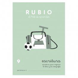 Cuadernos Rubio Caligrafía 9 Primaria