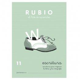 Cuadernos Rubio Caligrafía 11 Primaria