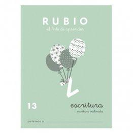 Cuadernos Rubio Caligrafía 13 Primaria