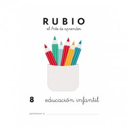 Cuadernos Rubio Infantil 8