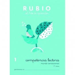 Cuadernos Rubio Competencia lectora 1 Mundo sensaciones