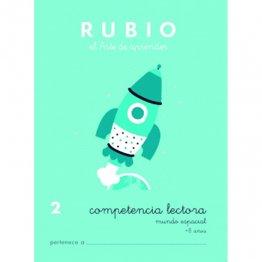 Cuadernos Rubio Competencia lectora 2 Mundo espacial