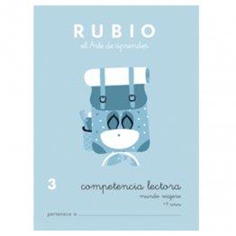 Cuadernos Rubio Competencia lectora 3 Mundo espacial