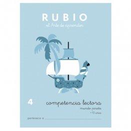 Cuadernos Rubio Competencia lectora 4 Mundo pirata