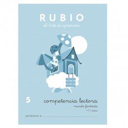Cuadernos Rubio Competencia lectora 5 Mundo fantasía