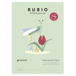 Cuadernos Rubio Vacaciones 3º Ed. Infantil